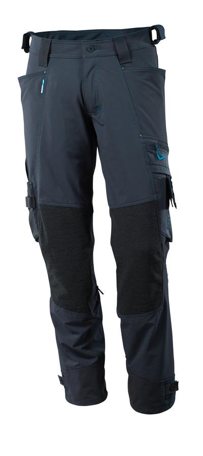 MASCOT® ADVANCED - mørk marine - Bukse med Dyneema® knelommer, fireveis-stretch, lav vekt
