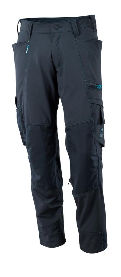 MASCOT® ADVANCED - mørk marine - Bukser med CORDURA®-knelommer, fireveis-stretch, lav vekt