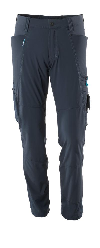 MASCOT® ADVANCED - mørk marine - Bukse, fireveis-stretch, lav vekt