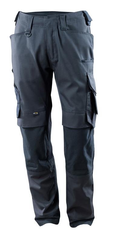 MASCOT® Adra - mørk marine - Bukser med CORDURA®-knelommer, stretchpaneler, god slitestyrke