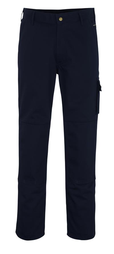 MASCOT® Albany - marine - Bukser med knelommer, god slitestyrke