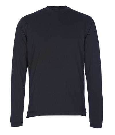 MASCOT® Albi - mørk marine - T-skjorte, langermet, moderne passform