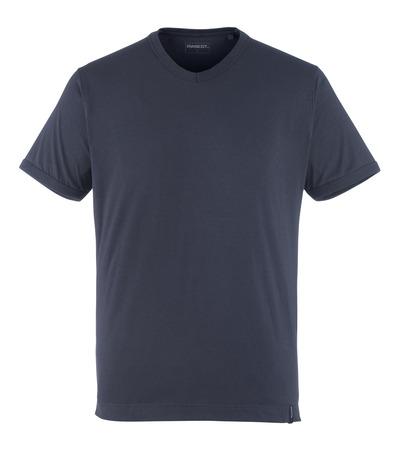 MASCOT® Algoso - mørk marine - T-skjorte, liten V-hals, moderne passform