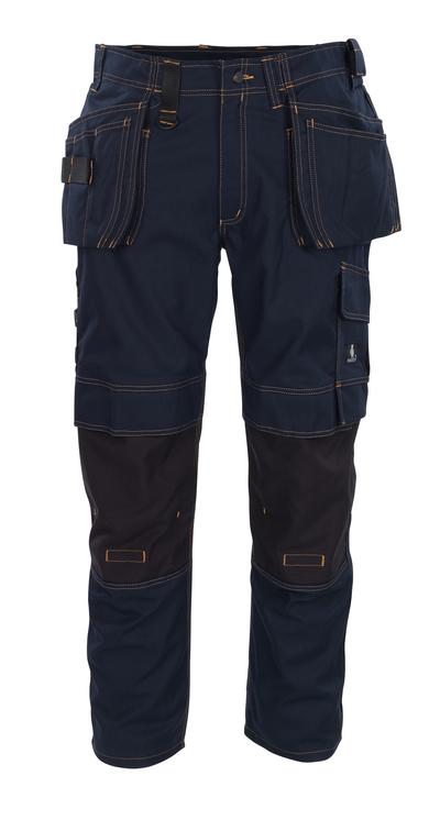 MASCOT® Almada - mørk marine - Bukser med CORDURA®-knelommer og hengelommer, god slitestyrke