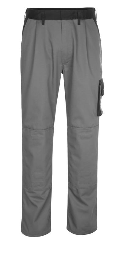 MASCOT® Ancona - antrasitt/svart - Bukser med knelommer, lav vekt