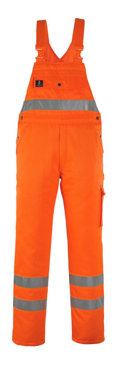 MASCOT® Antarktis - hi-vis oransje* - Vinteroverall med quiltfôr, vannavvisende, klasse 2/2