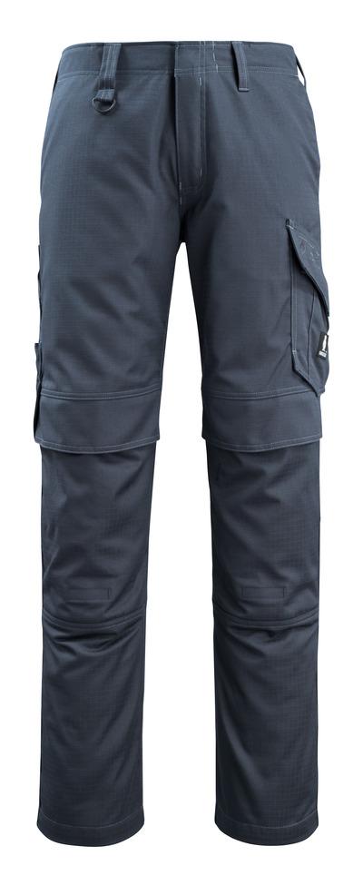 MASCOT® Arosa - mørk marine - Bukser med knelommer, smussavvisende, multisafe