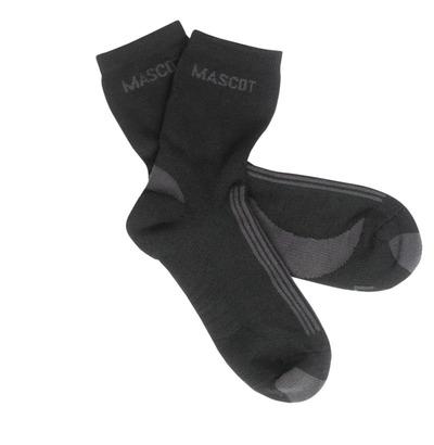 MASCOT® Asmara - svart/mørk antrasitt - Sokker, fukttransporterende