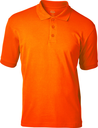 MASCOT® Bandol - hi-vis oransje - Pikéskjorte, hi-vis, moderne passform