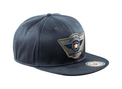 MASCOT® Bayville - mørk marine - Caps med ventilasjonshull, regulerbar, med broderi