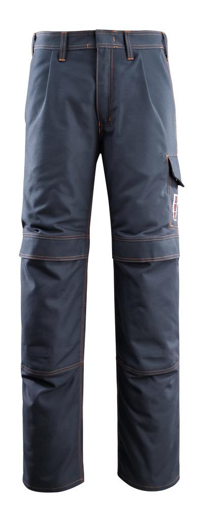 MASCOT® Bex - mørk marine - Bukser med knelommer, multisafe
