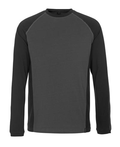 MASCOT® Bielefeld - mørk antrasitt/svart - T-skjorte