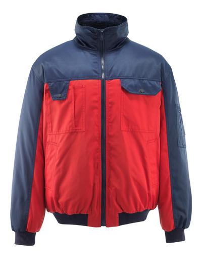 MASCOT® Bolzano - rød/marine - Pilotjakke med pelsfôr, vannavvisende Bearnylon®