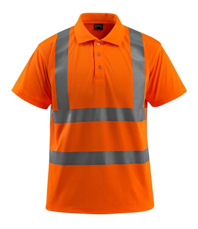 MASCOT® Bowen - hi-vis oransje - Pikéskjorte, klassisk passform, klasse 2