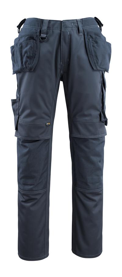 MASCOT® Bremen - mørk marine - Bukser med CORDURA® kne- og hengelommer, god slitestyrke