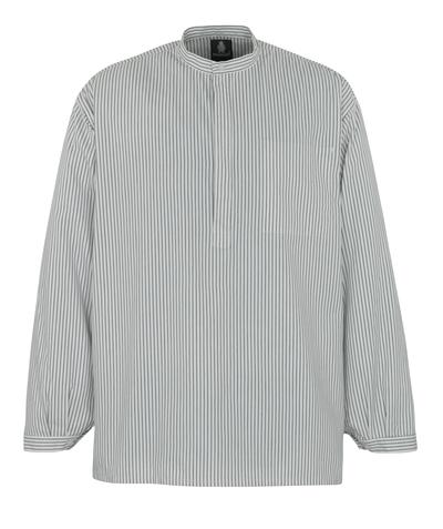 MASCOT® Buffalo - hvit/marine - Murerskjorte