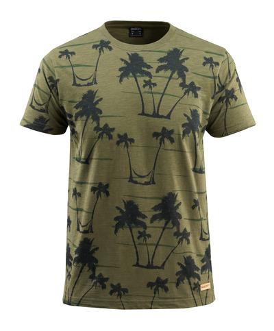 MASCOT® Bushwick - mosegrønn* - T-skjorte