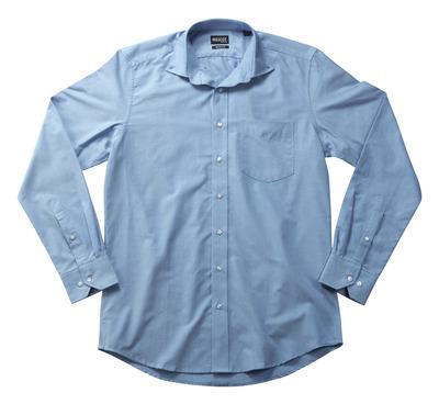 MASCOT® CROSSOVER - lys blå - Skjorte