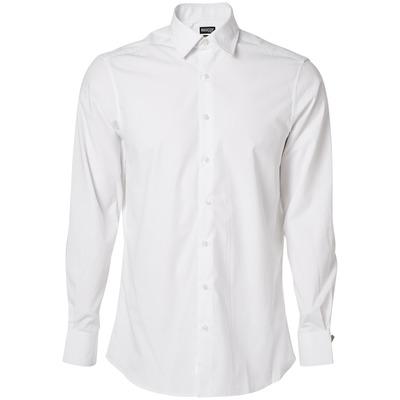 MASCOT® CROSSOVER - hvit - Skjorte, poplin, moderne passform