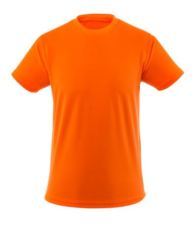 MASCOT® Calais - hi-vis oransje - T-skjorte, hi-vis, lav vekt, moderne passform