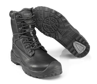 MASCOT® Craig - svart - Vernestøvler S3 med skolisser