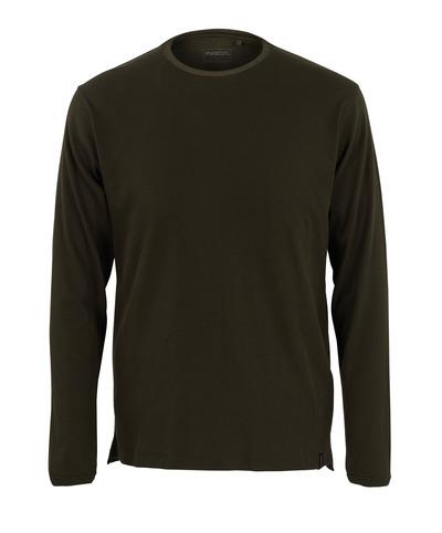 MASCOT® Crato - mørk oliven* - T-skjorte, langermet