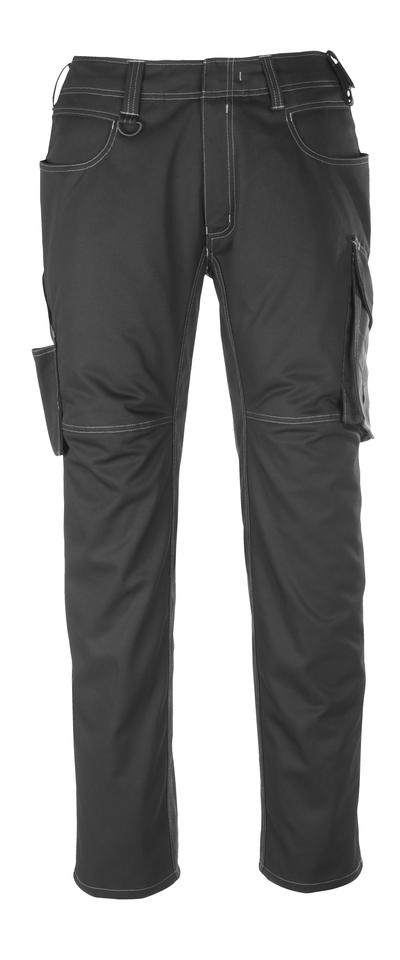 MASCOT® Dortmund - svart/mørk antrasitt - Bukse, god slitestyrke