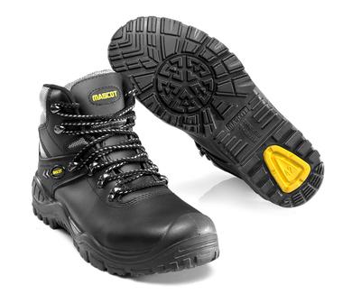 MASCOT® Elbrus - svart/gul - Vernestøvler S3 med skolisser