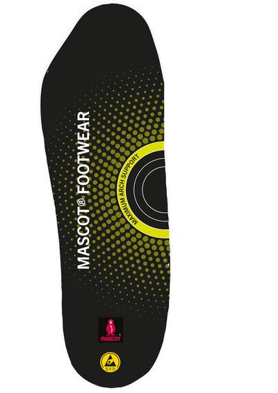 MASCOT® FOOTWEAR - svart - Innleggssåler med støtdemping, maksimal buestøtte