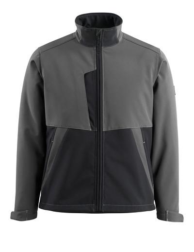 MASCOT® Finley - mørk antrasitt/svart - Softshelljakke med fleece på innsiden