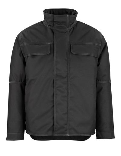 MASCOT® Flint - svart - Vinterjakke med vattert fleecefôr