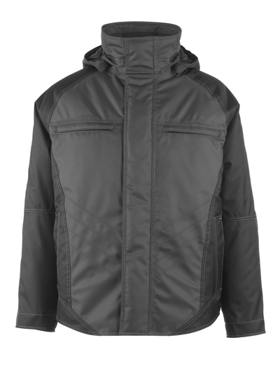 MASCOT® Frankfurt - mørk antrasitt/svart - Vinterjakke med vattert fleecefôr, vanntett