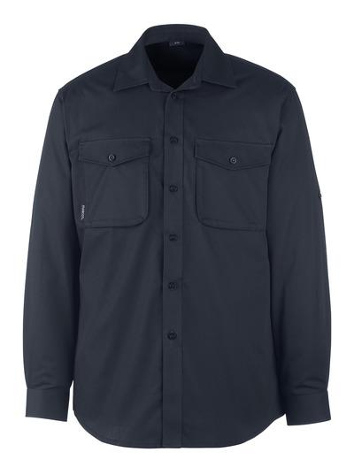 MASCOT® Greenwood - mørk marine - Skjorte, moderne passform