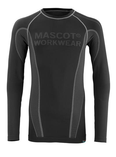 MASCOT® Hamar - svart - Termoundertrøye