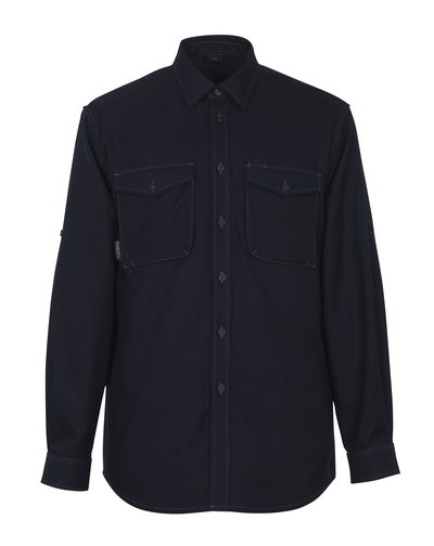 MASCOT® Hampton - mørk marine - Skjorte