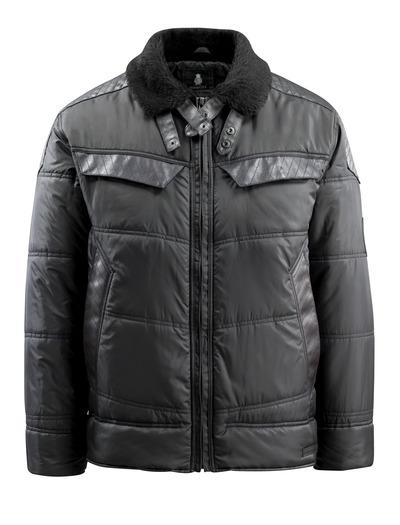 MASCOT® Haro - svart - Vinterjakke, vattert