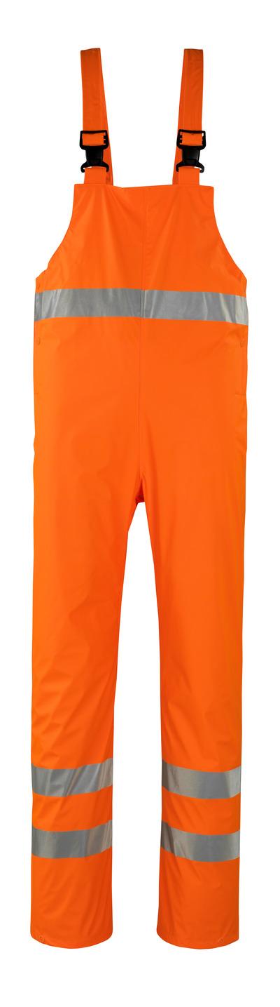 MASCOT® Hartberg - hi-vis oransje* - Regnoverall, vind- og vanntett, klasse 2