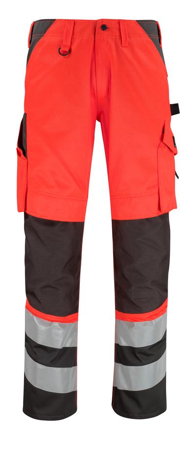 MASCOT® Horta - hi-vis rød/mørk antrasitt* - Bukser med knelommer