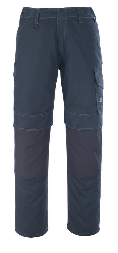 MASCOT® Houston - mørk marine - Bukser med knelommer, lav vekt