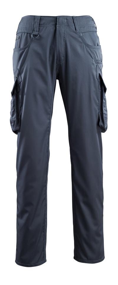 MASCOT® Ingolstadt - mørk marine - Bukser med lårlommer, ekstra lav vekt