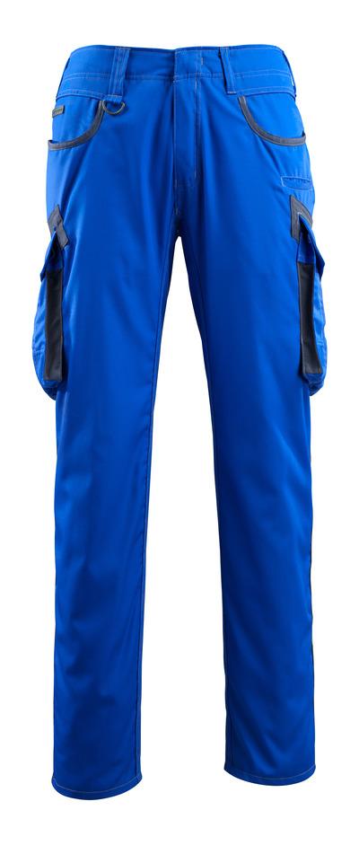 MASCOT® Ingolstadt - kobolt/mørk marine - Bukser med lårlommer, ekstra lav vekt