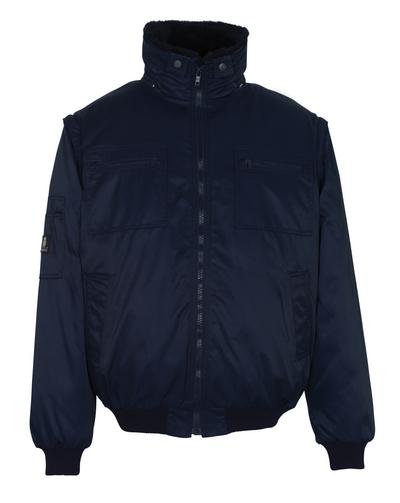 MASCOT® Innsbruck - marine - Pilotjakke med uttakbart pelsfôr, vannavvisende Bearnylon®