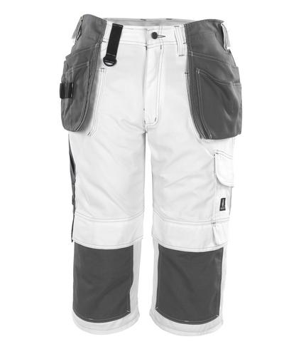 MASCOT® Jaca - hvit* - Piratbukser med kne- og hengelommer