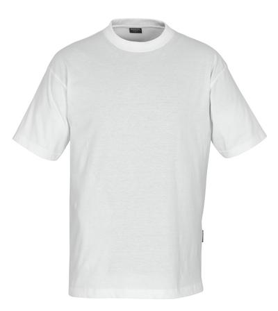 MASCOT® Jamaica - hvit - T-skjorte, lav vekt, klassisk passform