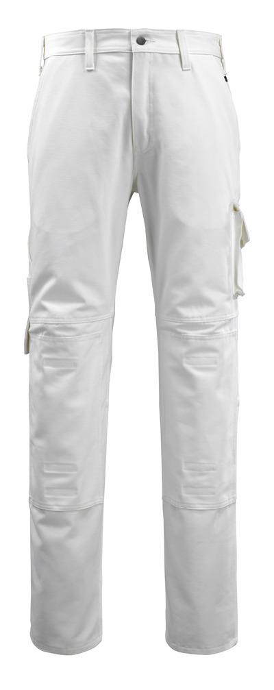 MACMICHAEL® Jardim - hvit - Bukser med knelommer, bomull