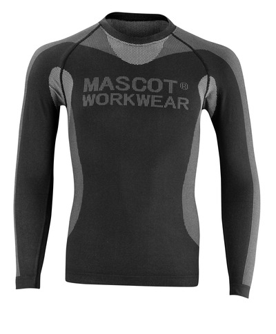 MASCOT® Lahti - svart - Undertrøye
