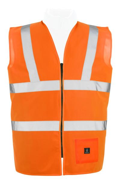 MASCOT® Lakewood - hi-vis oransje* - Trafikkvest med glidelås, klasse 2
