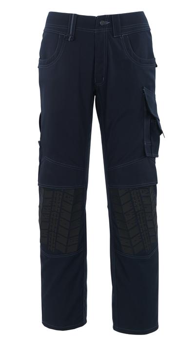 MASCOT® Laronde - mørk marine* - Bukser med knelommer