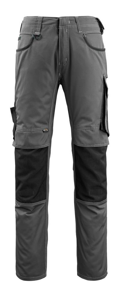 MASCOT® Lemberg - mørk antrasitt/svart - Bukser med CORDURA®-knelommer, ekstra lav vekt