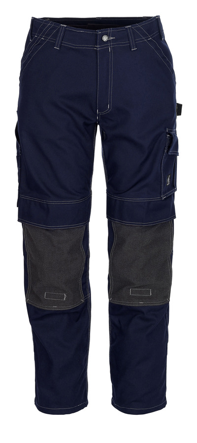 MASCOT® Lerida - marine - Bukser med Kevlar®-knelommer, god slitestyrke
